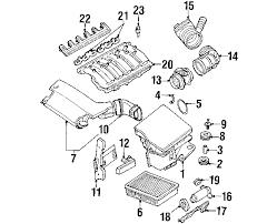 bmw 325i parts catalog parts com bmw air volume sensor partnumber 13621432356