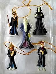 harry potter miniature hanging ornaments set of 5