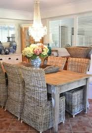 World Market Wicker Chairs For The Head Of The Dining Tables - Round dining table with wicker chairs