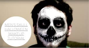 men halloween makeup skeleton for men halloween makeup tutorial youtube