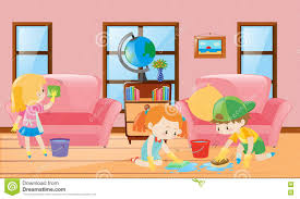 livingroom cartoon living room clipart for kid pencil and in color living room