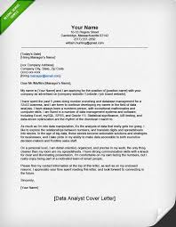 How To Write A Resume Cover Letter Examples by Professional Data Analyst Cover Letter Resume Genius