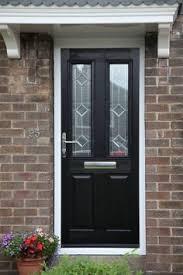 composite door glass ludlow 2 composite door in chartwell green with brilliante glass