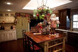 christmas decorations for kitchen cabinets kitchen christmas decoration with small dining area and classic