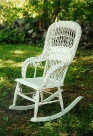 price my item value of antique fine victorian wicker rocking chair