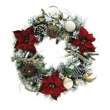 large outdoor lighted wreath large outdoor wreath 6 ft lighted