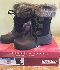 s khombu boots size 9 khombu black slope winter boots size 7 all weather