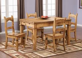 santa fe rusticos 5 piece dining package the brick