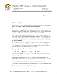 business letters sample fundraising letter business checklist