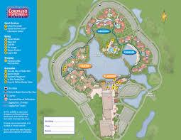Florida Springs Map by 2013 Coronado Springs Guide Map Photo 1 Of 3
