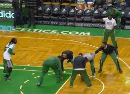 gif rajon rondo scores during celtics pre thanksgiving football