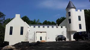 new canaan castle built from styrofoam new canaan news