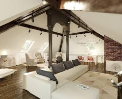 home design loft attic rooms and living room on pinterest with