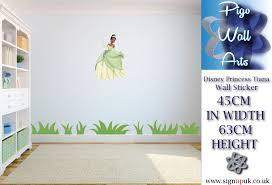 disney princess tiana wall art sticker girls bedroom children s categories call of duty car wall sticker