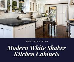 shaker style kitchen cabinets white designing kitchens with modern white shaker cabinets best