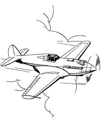 p51 mustang fighter airplane coloring p51 mustang