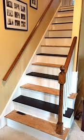How To Put Up A Handrail To Remove Carpet From Stairs And Paint Them