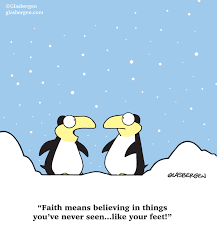 does it hurt to think faith in feet