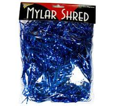 mylar shred mylar shred blue party things online party supplies