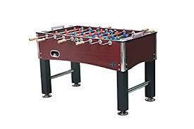 amazon com foosball table amazon com kick foosball table royalton 55 in sports outdoors