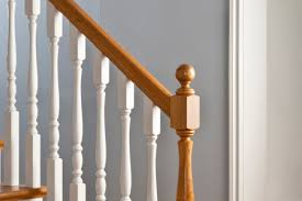 How To Install A Banister How To Stain A Banister Diy True Value Projects