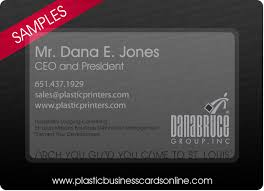 Business Cards St Louis Plastic Business Cards Samples Examples And Design Ideas