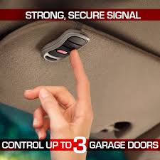 garage door covers style your garage genie 3 button remote with intellicode security technology