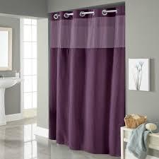 hookless waffle fabric shower curtain