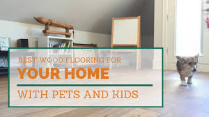 best hardwood flooring types for homes with pets and