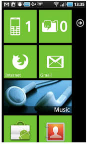 make android look like iphone make your android mobile look like windows phone 7
