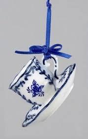 kurt adler delft blue world ornament ornaments
