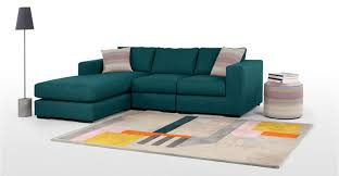 canap d angle vert canapés bleu vert et vert bleu mobilier canape deco
