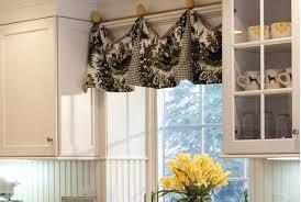 Cheap Kitchen Curtains Impressive Inexpensive Kitchen Curtains Ideas Black Kitchen