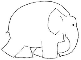 elmer elephant coloring glum