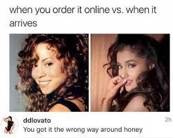 Mariah Meme - demi lovato threw shade at mariah carey over an ariana grande meme