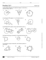 chords secants and tangents in circles worksheets mediafoxstudio com