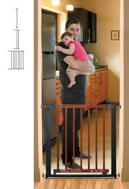 Large Pressure Mounted Baby Gate 59 Inch Baby Gates Baby And Pet Gates