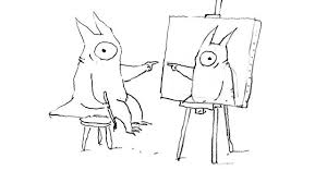 an interview without words illustrator shaun tan draws