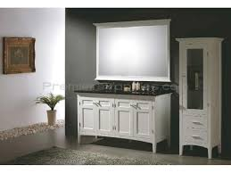 White Bathroom Cabinets by Fabulous Decorating Ideas Using Rectangular White Sinks And