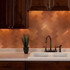 Copper Tiles For Kitchen Backsplash Copper Tile Backsplash Amazing Home Interior Design Ideas By