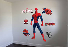 get exclusive spiderman wall art from ey decal