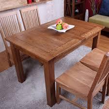 wood vintage european white oak wood furniture solid wood dining