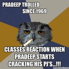 Art School Owl Meme - meme
