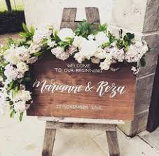 personalized wooden wedding signs personalised wooden wedding sign welcome by willowandinkdesign