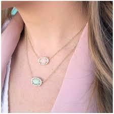 gold rose quartz necklace images Kendra scott elisa gold pendant necklace in rose quartz precious jpg