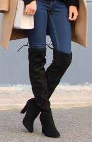 womens boots betts on the cover winter wardrobe staple the knee boots 16