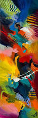 45 easy abstract painting ideas that look totally awesome