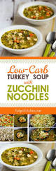 day after thanksgiving turkey carcass soup low carb turkey soup with zucchini noodles kalyn u0027s kitchen