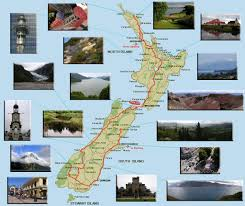 Map A Trip Sydney Australia And Much More New Zealand Map Of Our Trip
