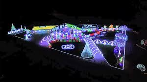 mind blowing new light show family aerial